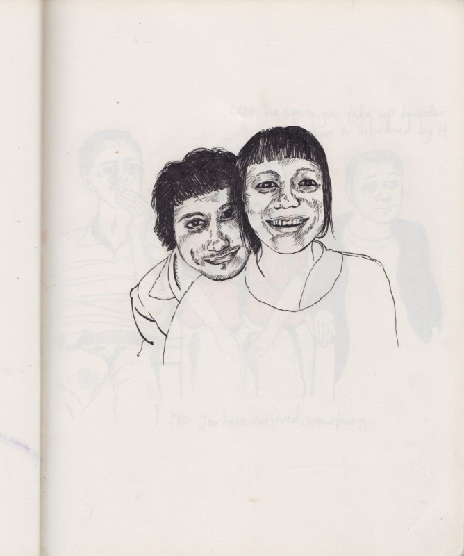 Sketch Ali&Clare