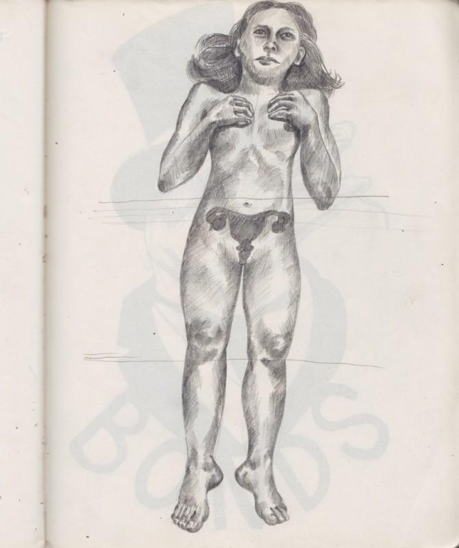 Sketch Nude
