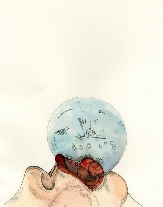 Saliva Bubble