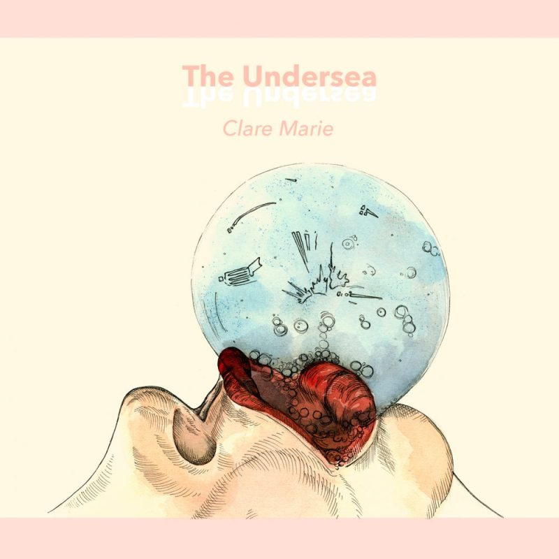 Clare Marie_The Undersea_A5 Comic Book_2016